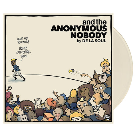 "[""De La Soul - 'and the Anonymous Nobody' [(Clear) Vinyl [2LP]]""]"