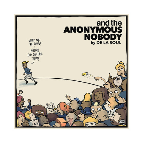 "[""De La Soul - 'and the Anonymous Nobody' [(Black) Vinyl [2LP]]""]"