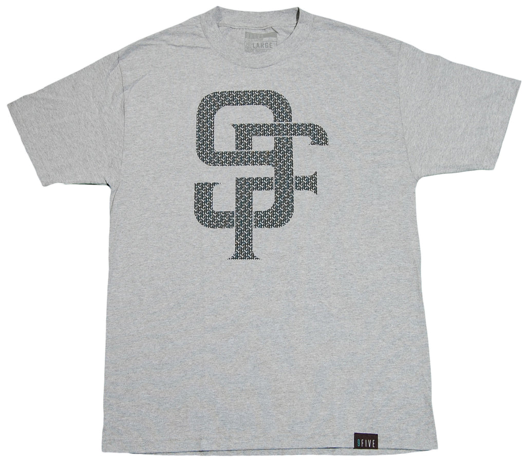 <!--2012061251-->9five Eyewear - 'Monogram' [(Gray) T-Shirt]