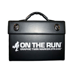 <!--020080513013784-->On The Run - 'Main Colors .830 Graphic (ASSORTED 48 PACK w/ LUXURY CARRYING CASE)' & [Marker [Ink]]