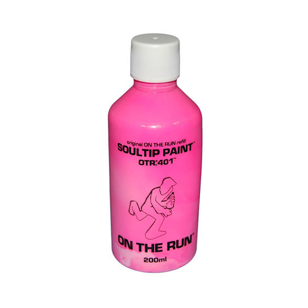 On The Run - 'OTR.401 Soultip Paint Refill - Neon Pink' & [Paint]