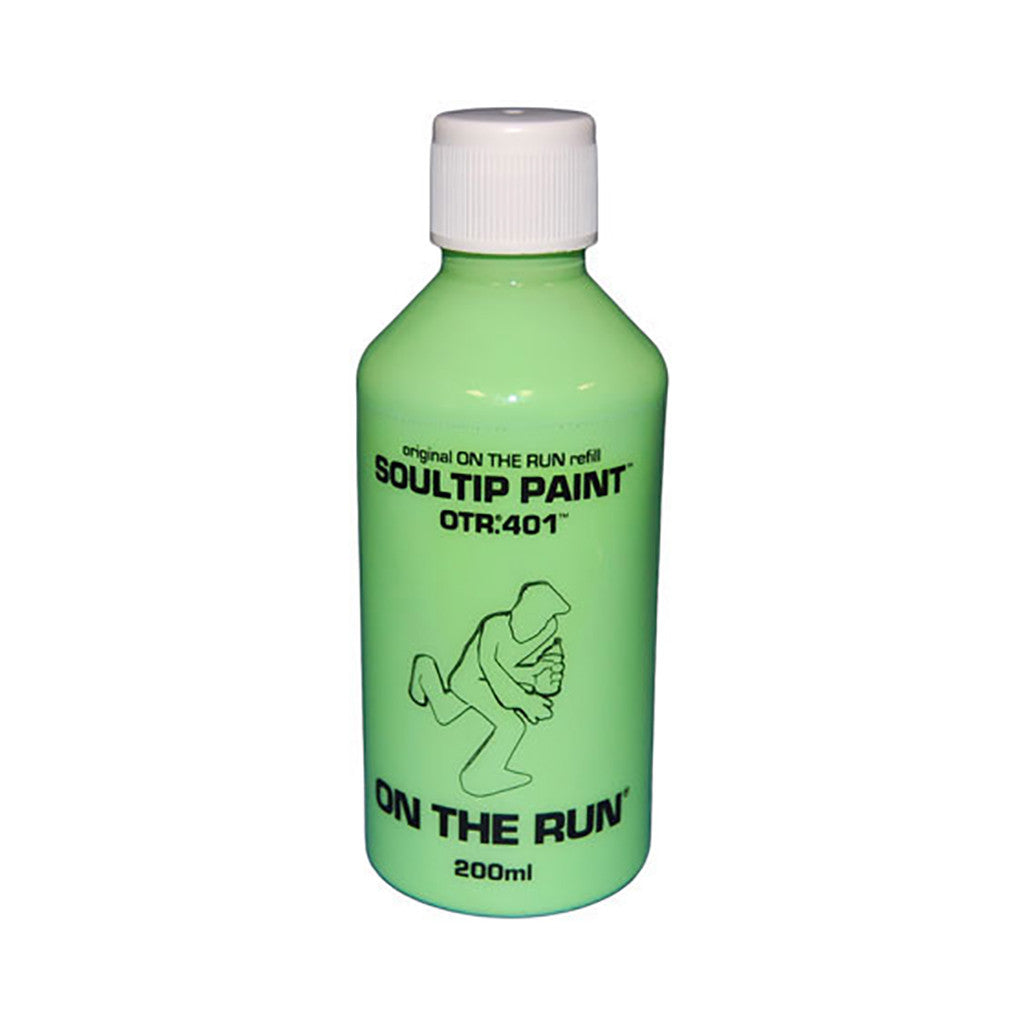 On The Run - 'OTR.401 Soultip Paint Refill - Neon Green' & [Paint]
