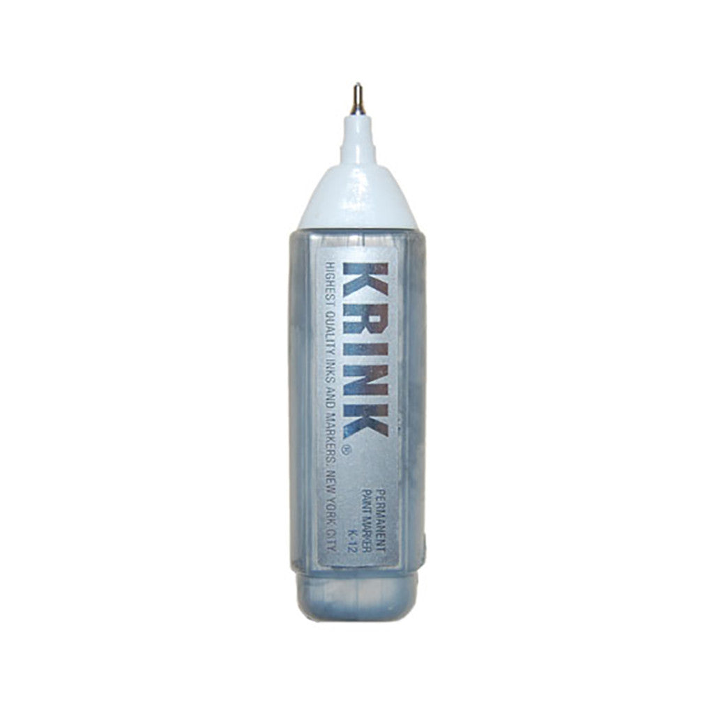 <!--020100831023134-->Krink - 'K-12 Steel Tip Squeeze Correction Pen - Silver' & [Marker [Ink]]