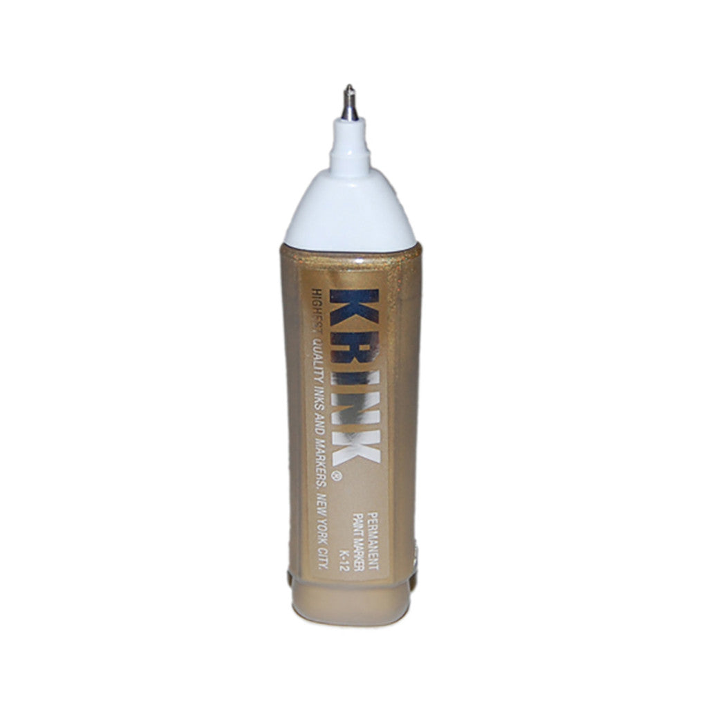 <!--020101228026534-->Krink - 'K-12 Steel Tip Squeeze Correction Pen - Gold' & [Marker [Ink]]