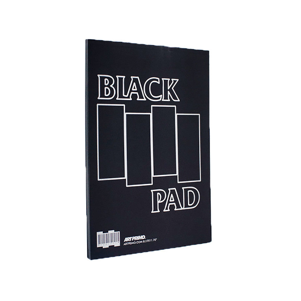 "<!--020150526069591-->AP - 'Black Pad (8.27"" X 11.7"")' & [Blank Sketch Book]"