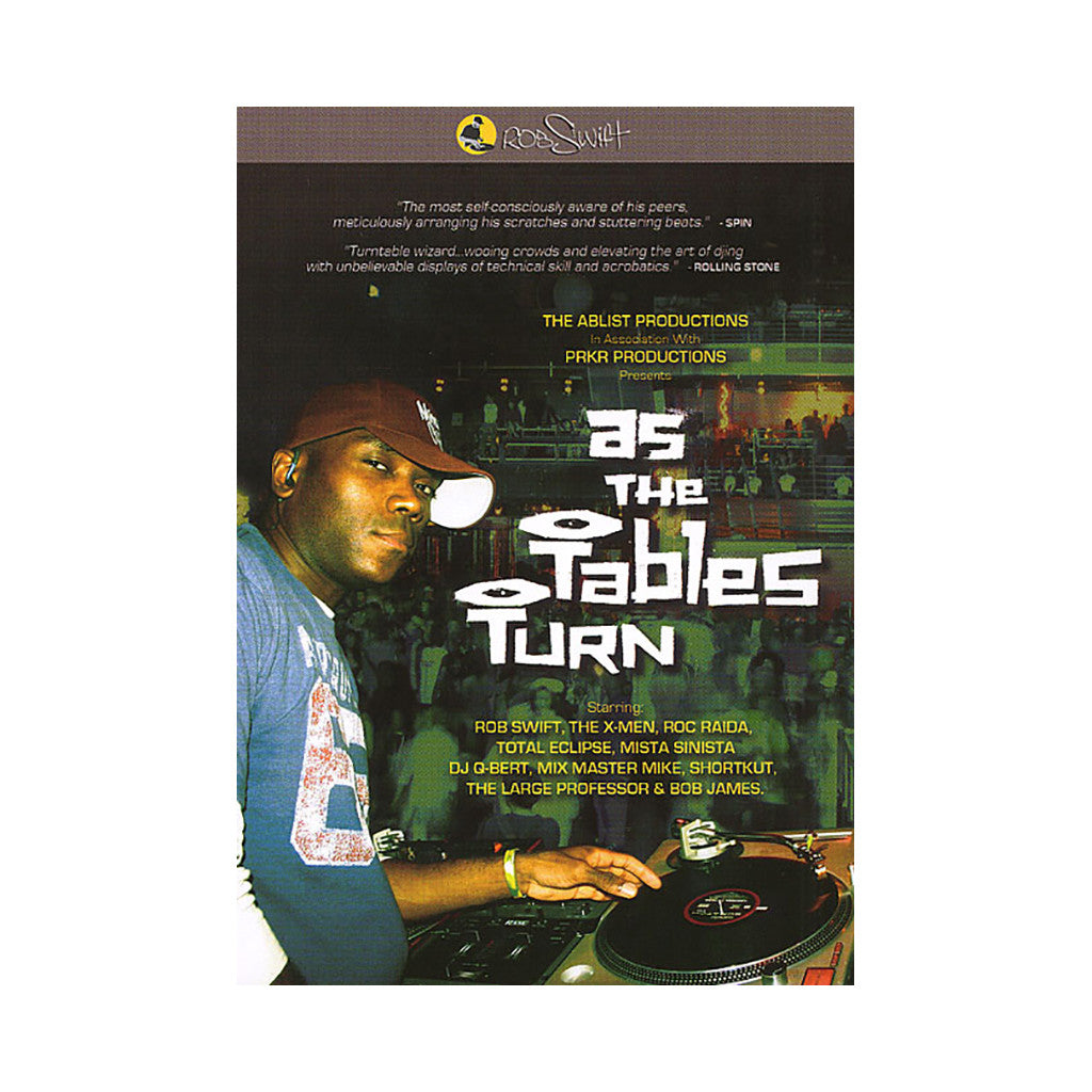 <!--020070327008999-->Rob Swift - 'As The Tables Turn' [DVD]