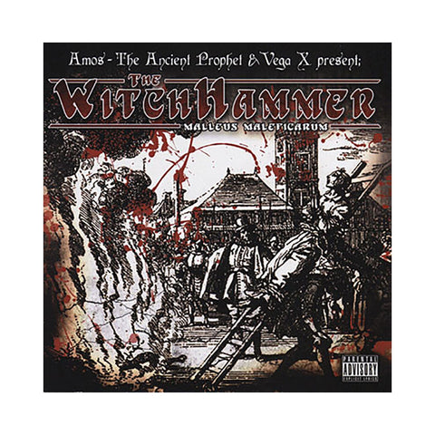 Amos The Ancient Prophet & Vega X Present - 'The Witch Hammer EP' [CD]