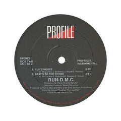 "Run D.M.C. - 'Run's House/ Beats To The Rhyme' [(Black) 12"" Vinyl Single]"