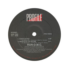 "<!--019880101011643-->Run D.M.C. - 'Run's House/ Beats To The Rhyme' [(Black) 12"" Vinyl Single]"