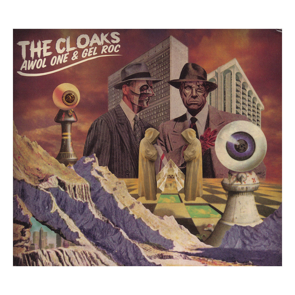 AWOL One & Gel Roc - 'The Cloaks' [CD]