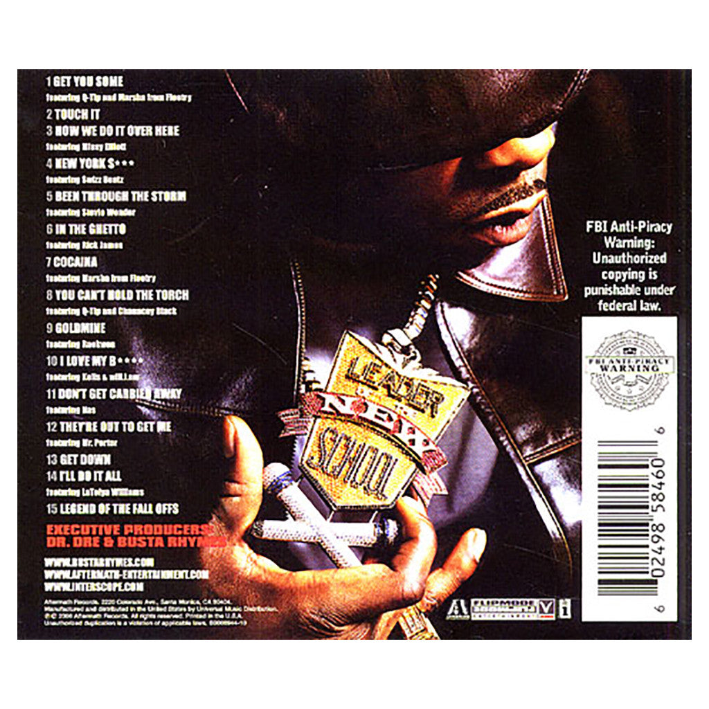 Bang big busta rhyme tracklist