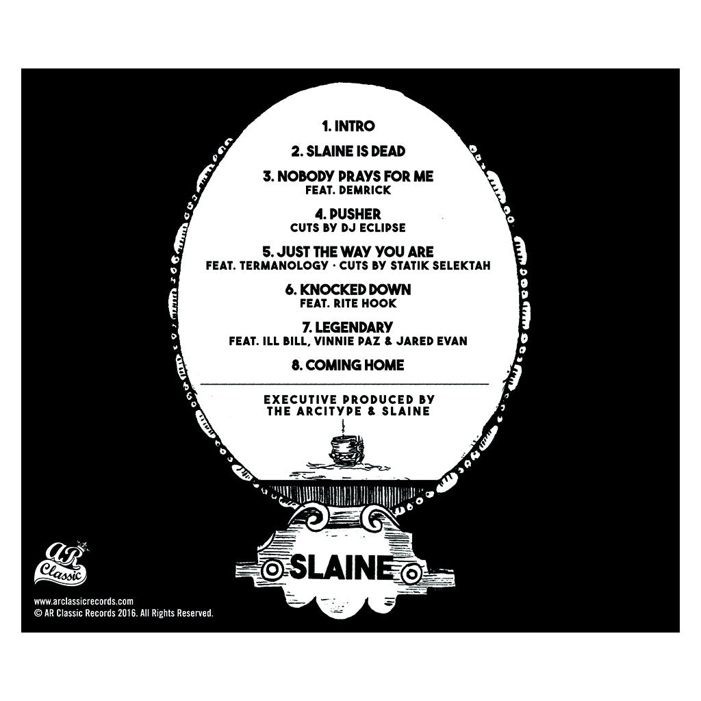 Slaine - 'Slaine Is Dead EP' [CD]