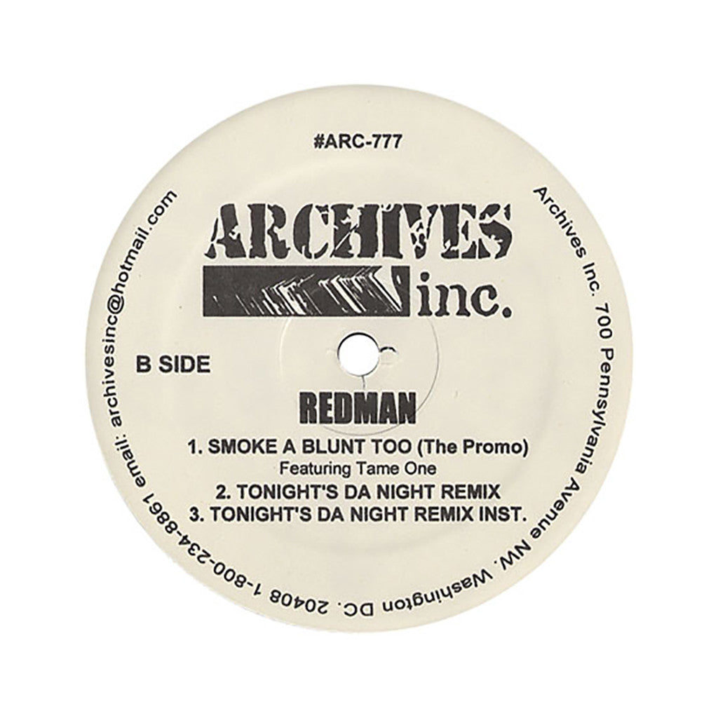 "<!--019000101011664-->Redman - 'I Get Down Like That/ Funkorama (Remix)/ Smoke A Blunt Too/ Tonight's Da Night (Remix)' [(Black) 12"" Vinyl Single]"