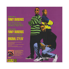 "<!--1989010142-->Three Times Dope - 'Funky Dividends (Remix)/ Funky Dividends/ Original Stylin'' [(Black) 12"" Vinyl Single]"