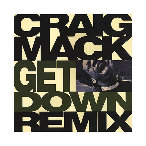 "Craig Mack - 'Get Down/ Get Down (Q-Tip Remix)' [(Black) 12"""" Vinyl Single]"