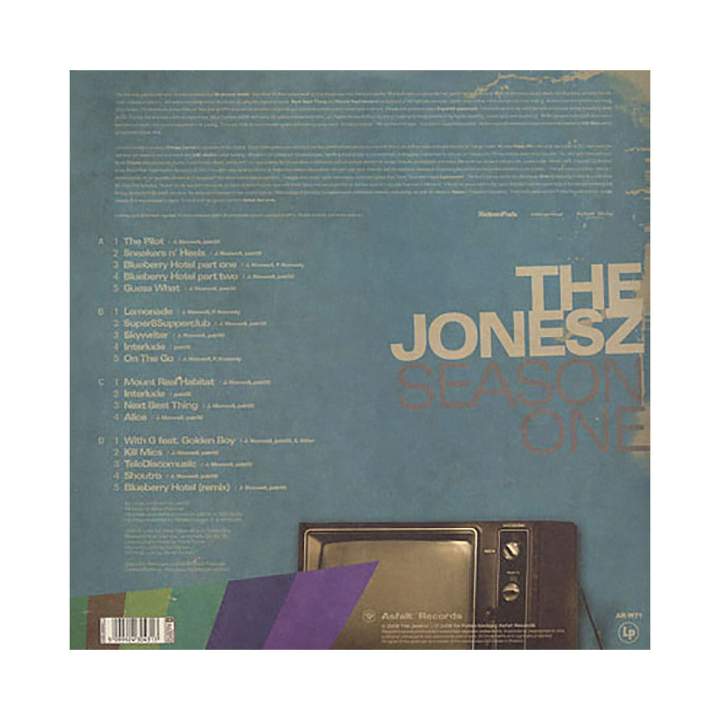 The Jonesz - 'Season One' [(Black) Vinyl [2LP]]