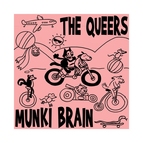 "[""The Queers - 'Munki Brain' [(Black) Vinyl LP]""]"
