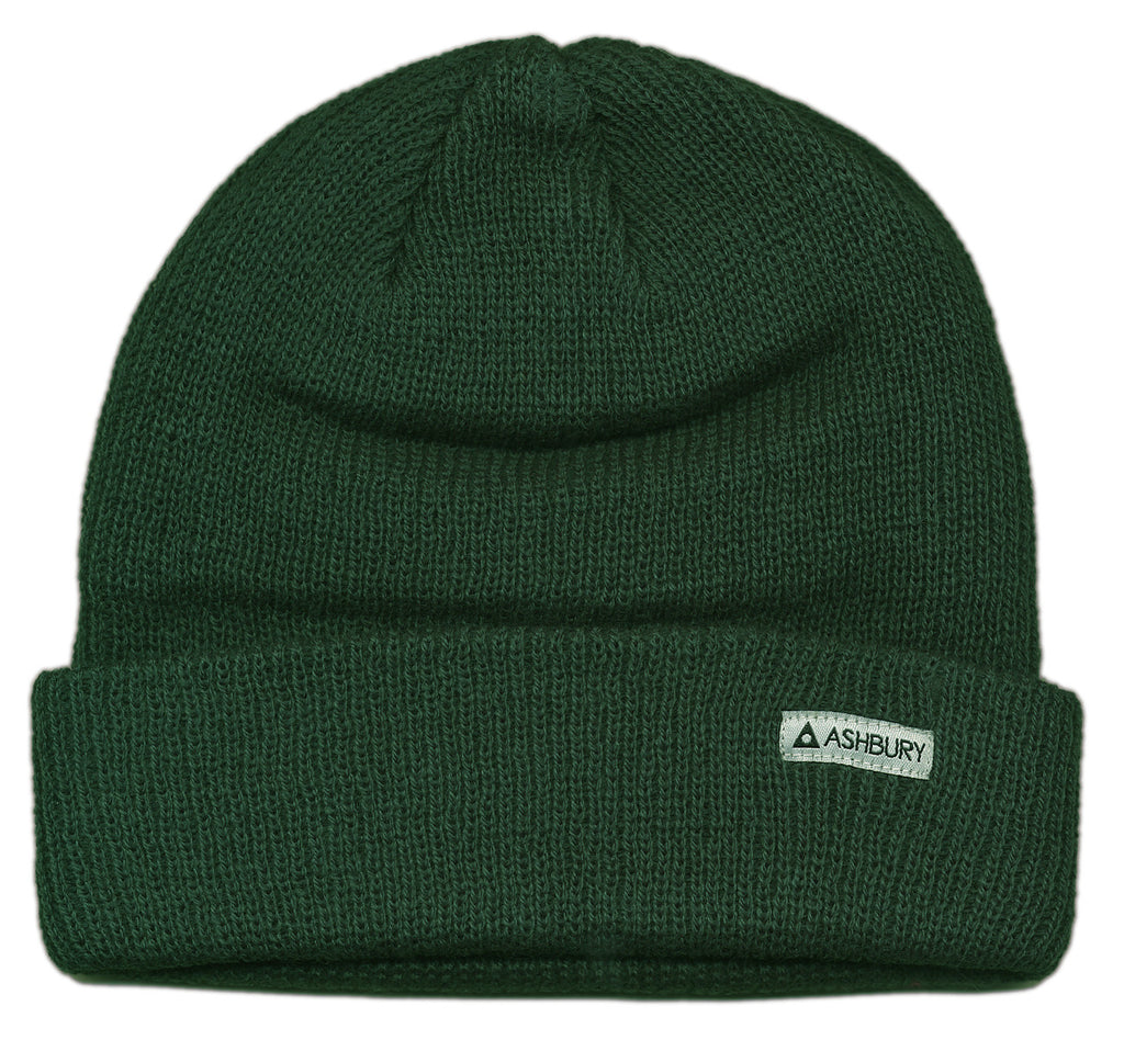 <!--2012100214-->Ashbury Eyewear - 'OG Beanie' [(Green) Winter Beanie Hat]