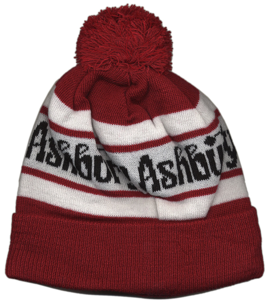 <!--020121002050199-->Ashbury Eyewear - 'Pom Beanie' [(Red) Winter Beanie Hat]
