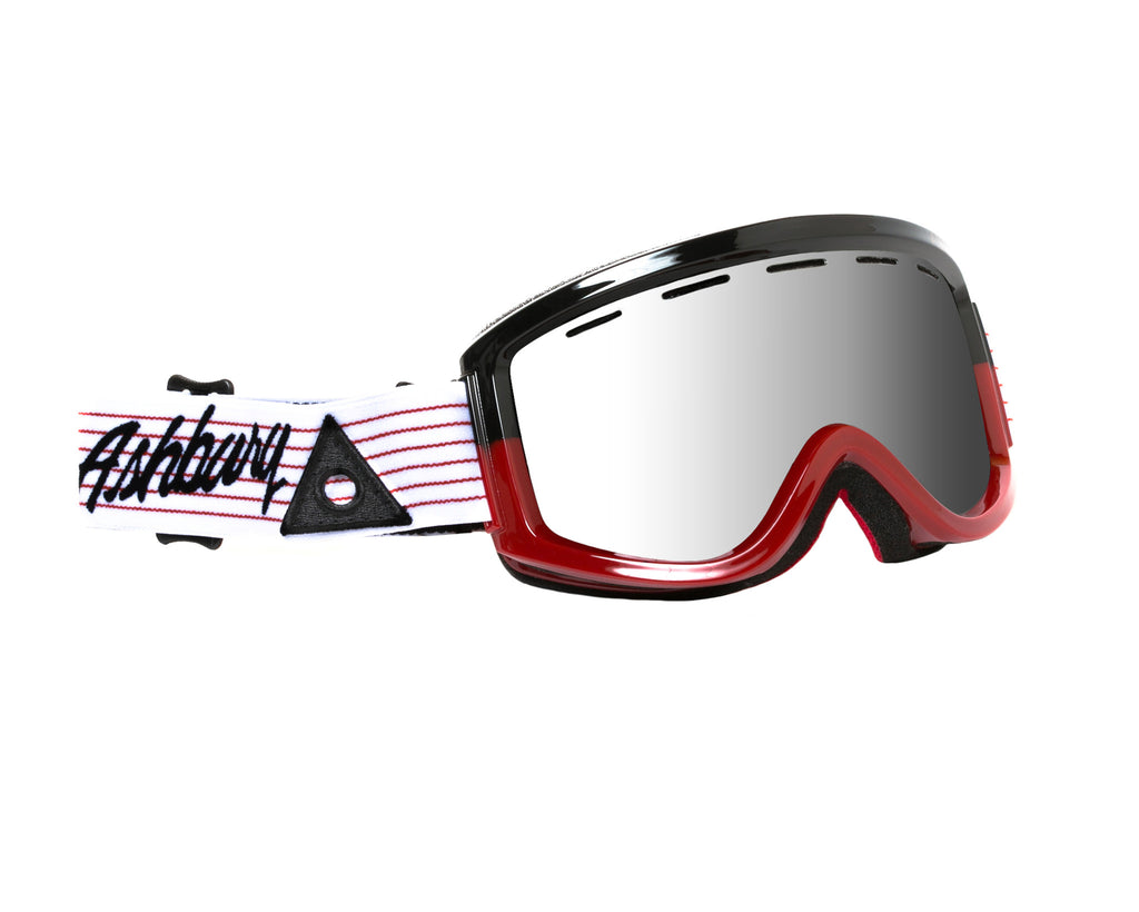 <!--020121002050204-->Ashbury Eyewear - 'Warlock - Black/ Red' [(Red) Goggles]