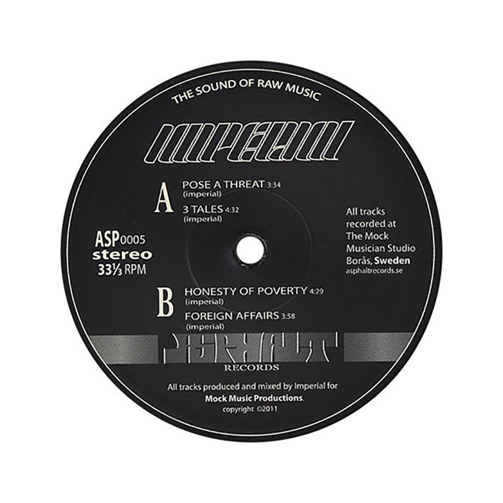 <!--2011121319-->Imperial - 'Pose A Threat' [(Black) Vinyl EP]