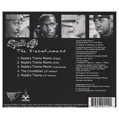 <!--020020319011462-->The X-Ecutioners - 'Raida's Theme (Remix)/ The Countdown/ Raida's Theme' [CD]