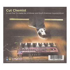 <!--120100727022129-->Cut Chemist - 'Sound Of The Police: A Live One Turntable Mix of African and South American Inspired Music' [CD]