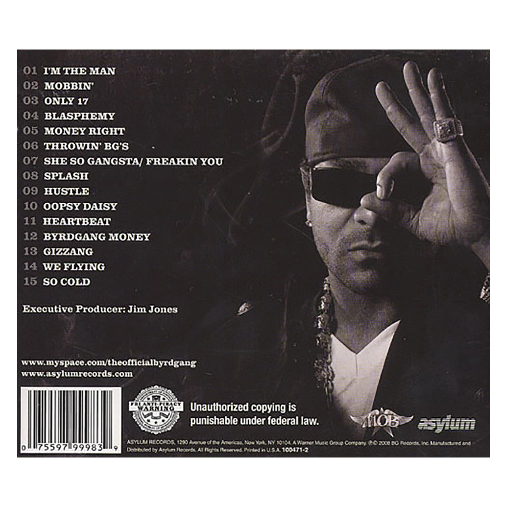 Jim Jones & The Byrdgang - 'M.O.B.' [CD]
