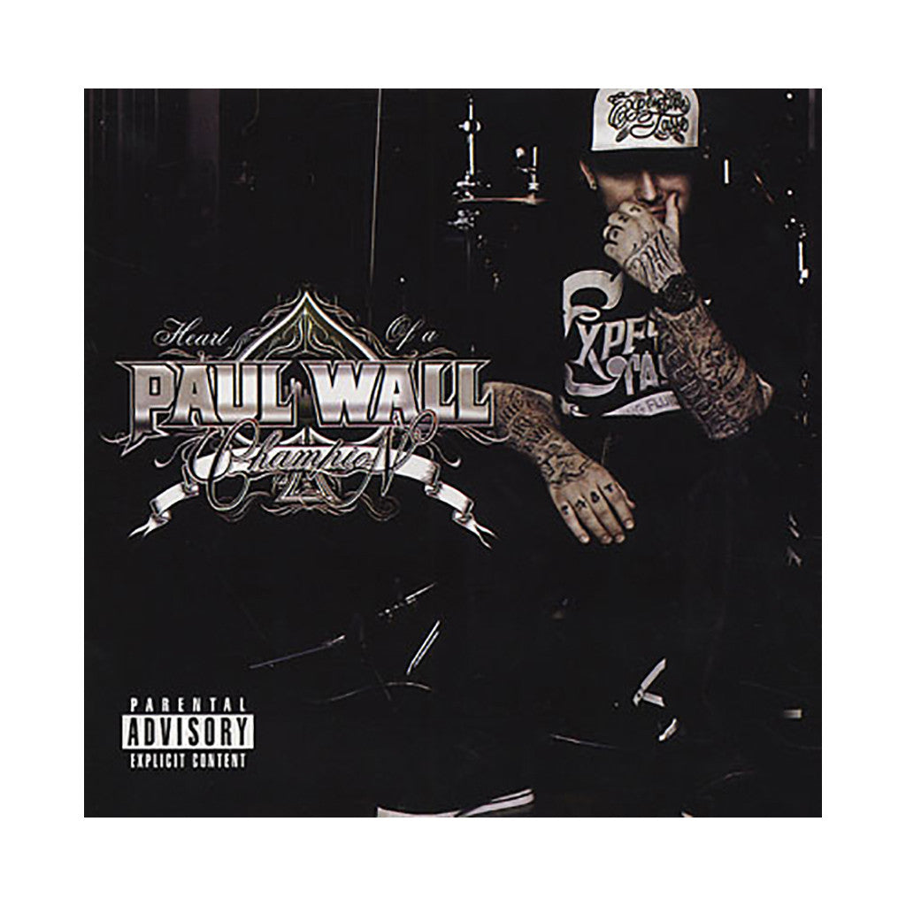 <!--120100629022298-->Paul Wall - 'Heart Of A Champion' [CD]