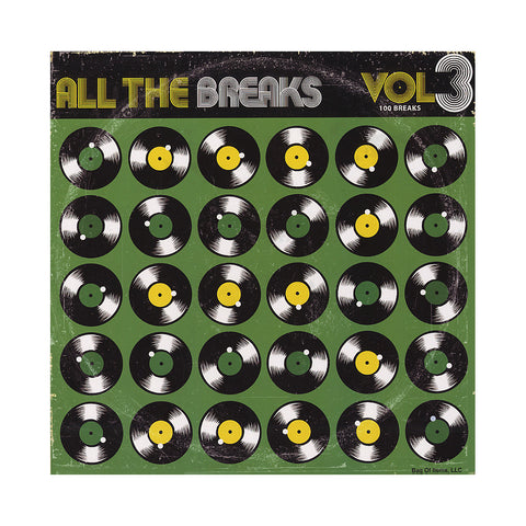 All The Breaks - 'All The Breaks Vol. 1, 2 & 3: 300 Breaks' [Cassette Tape]