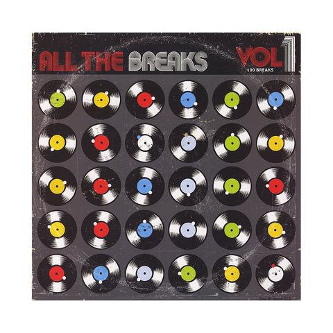 All The Breaks - 'All The Breaks Vol. 1 (THIS IS A RE-STOCK)' [(Black) Vinyl LP]