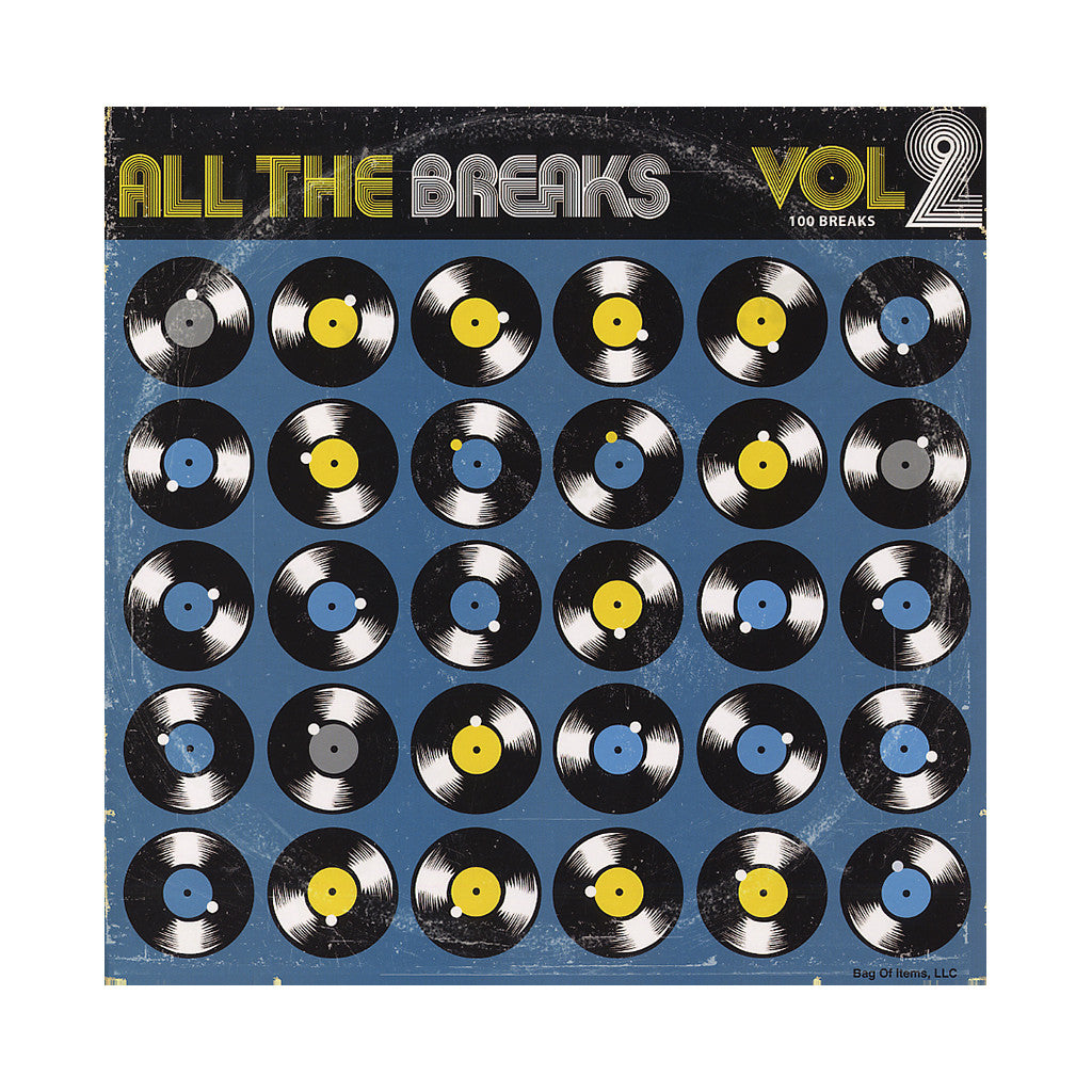 All The Breaks - 'All The Breaks Vol. 2' [(Black) Vinyl LP]