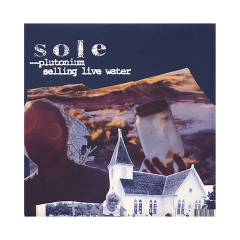 "Sole - 'Plutonium (Remix)/ Selling Live Water (Remix)/ The Surface' [(Black) 12"""" Vinyl Single]"