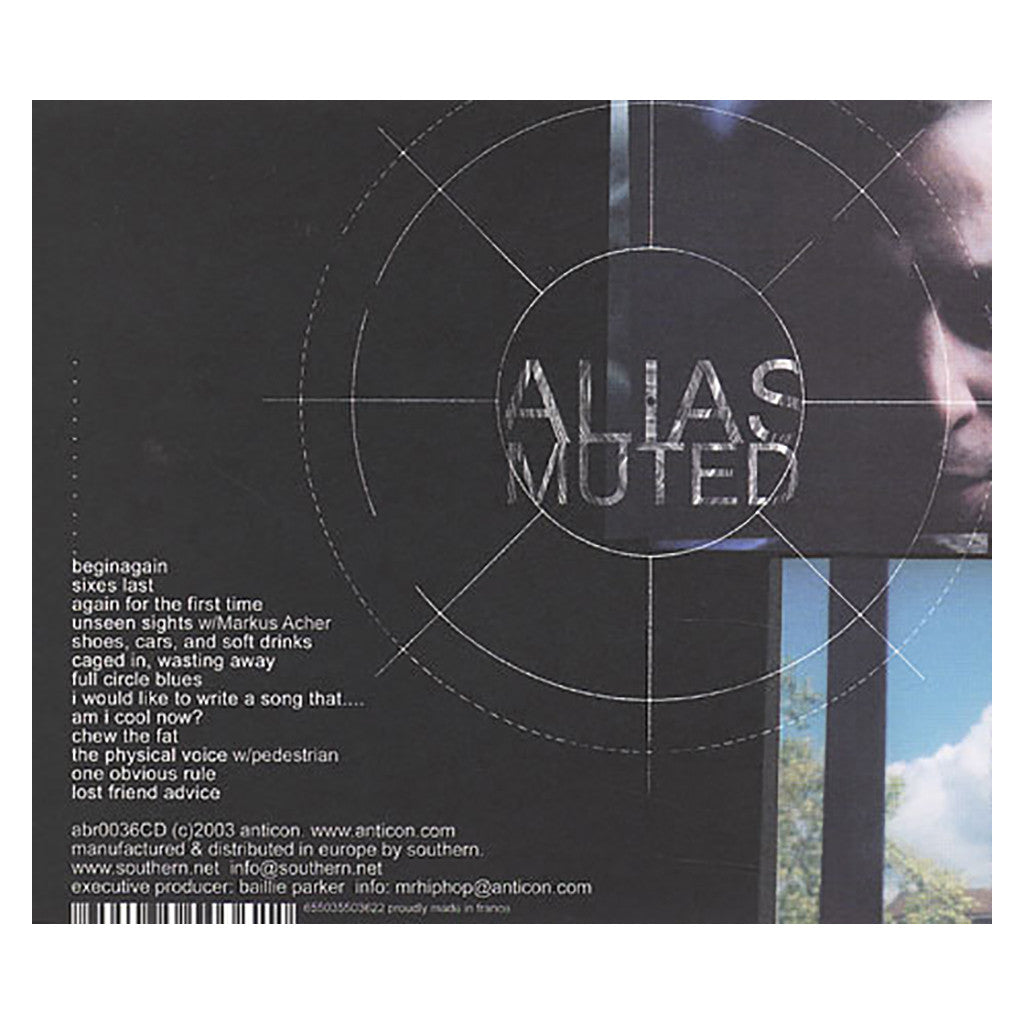 <!--120031104004781-->Alias - 'Muted' [CD]