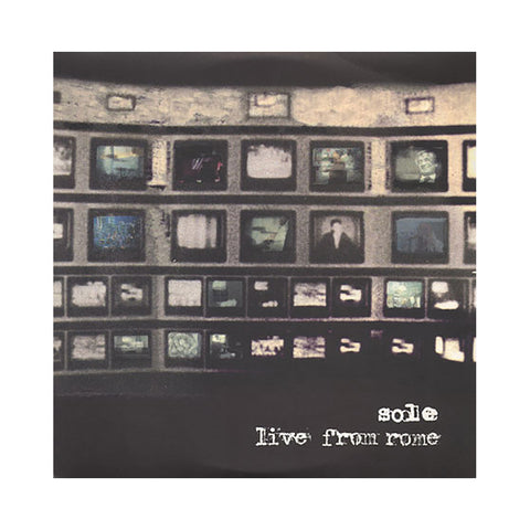 Sole - 'Live From Rome' [CD]