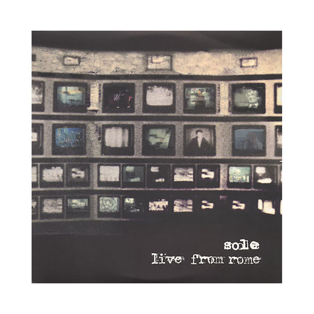 Sole - 'Live From Rome' [(Black) Vinyl [2LP]]