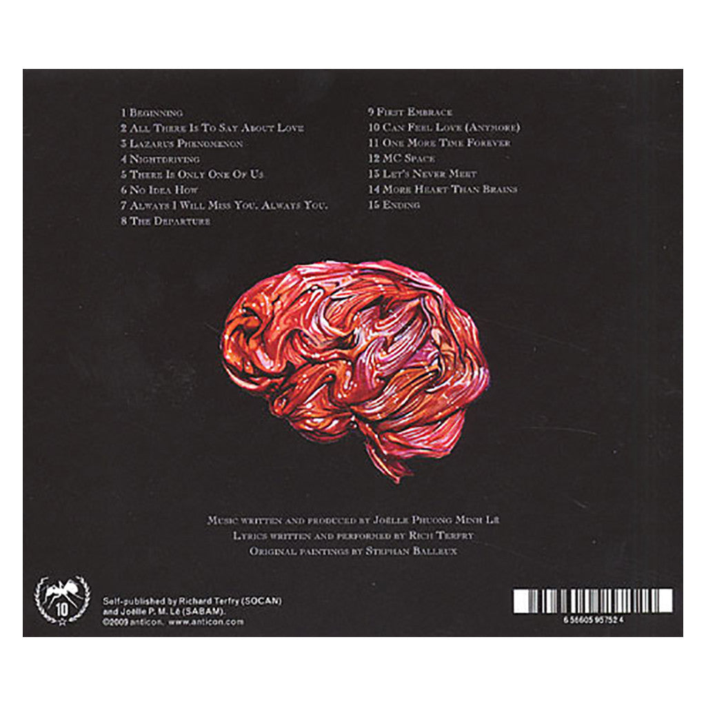 Bike For Three! - 'More Heart Than Brains' [CD]