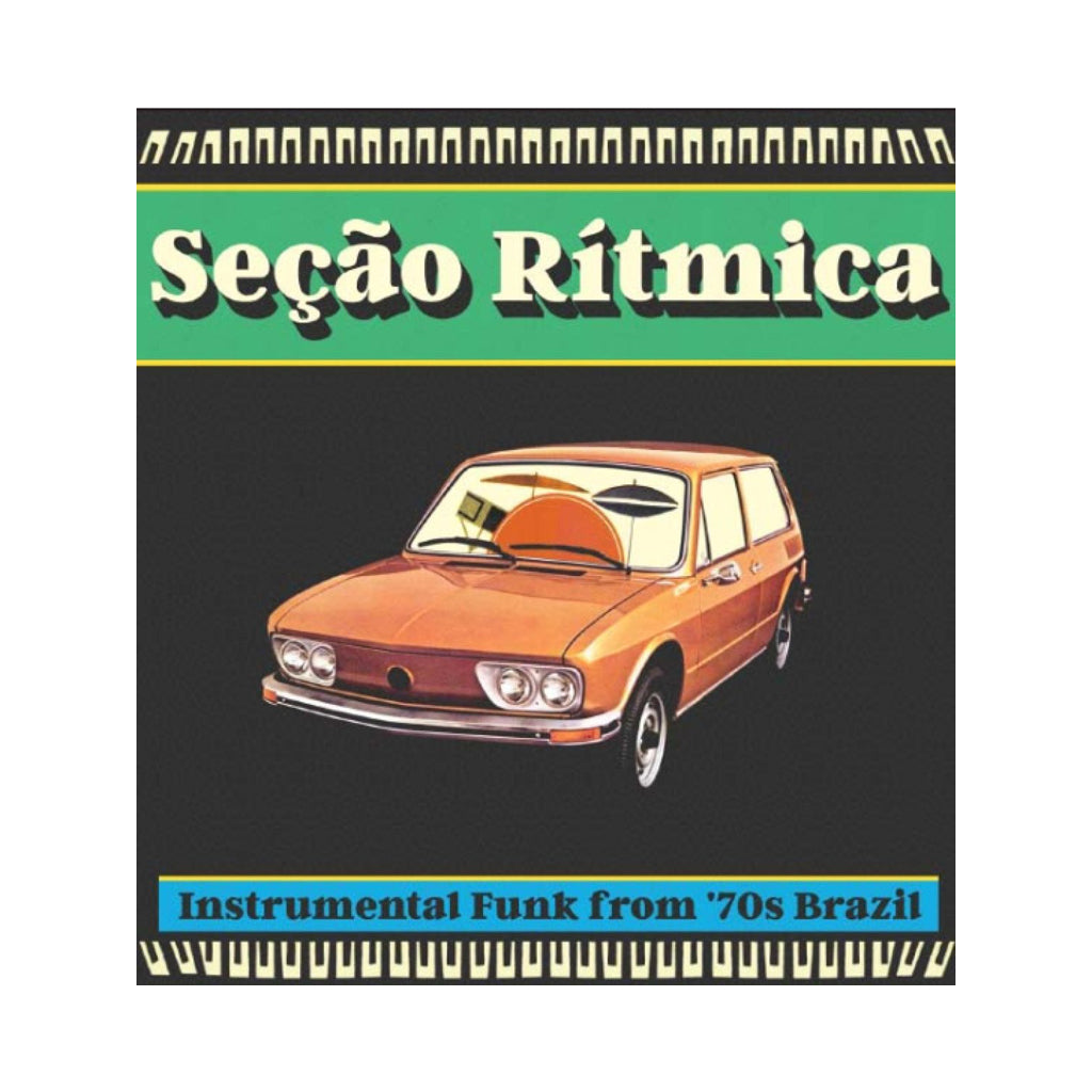 Various Artists - 'Secao Ritmica Instrumental Funk From '70s Brazil' [CD]