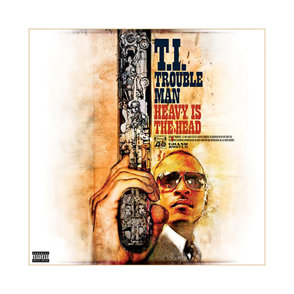 T.I. - 'Trouble Man: Heavy Is the Head' [CD]