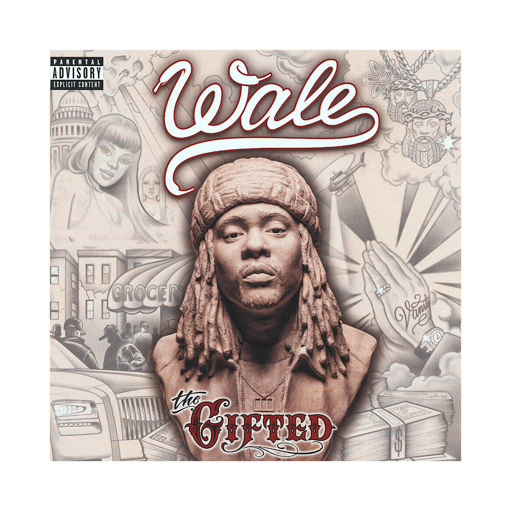 <!--120130625056319-->Wale - 'The Gifted' [CD]