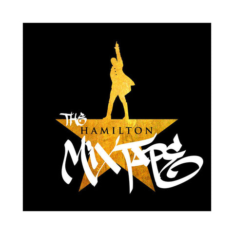 "[""Various Artists - 'The Hamilton Mixtape' [(Black) Vinyl [2LP]]""]"