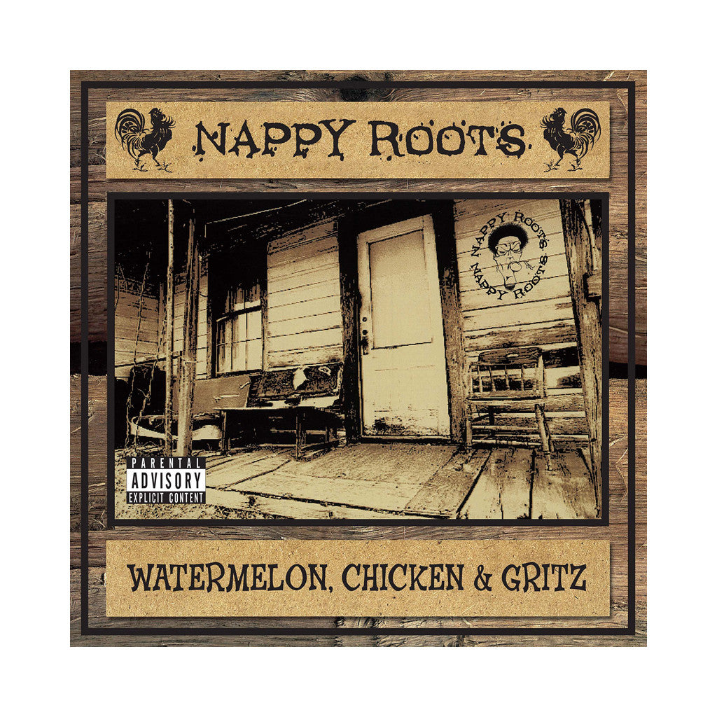 <!--120020226001985-->Nappy Roots - 'Watermelon, Chicken & Gritz' [CD]