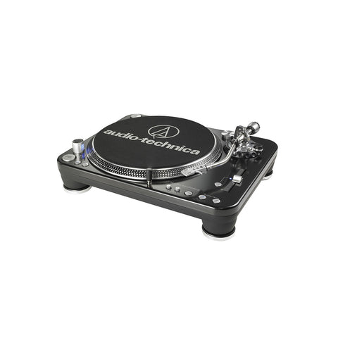 "[""Audio Technica - 'LP-1240 USB Direct Drive Professional DJ' [(Black) Turntable]""]"