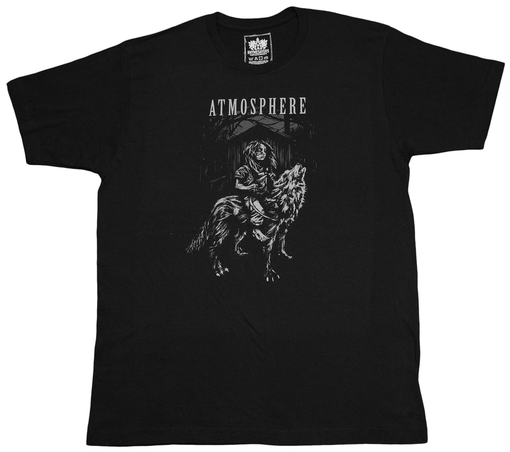 <!--2012022159-->Atmosphere - 'Wolf' [(Black) T-Shirt]