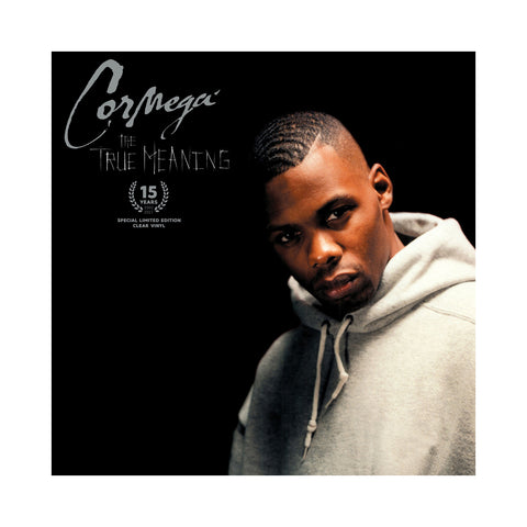 "[""Cormega - 'The True Meaning (15 Year Anniversary)' [(Clear) Vinyl LP]""]"