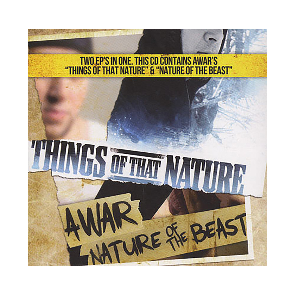 AWAR - 'Things Of Nature + Nature Of The Beast (Split EP)' [CD]