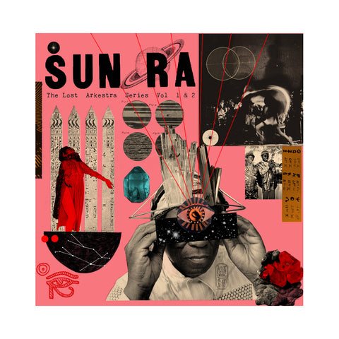 "[""Sun Ra & His Myth Science Solar Arkestra - 'Lost Ark Series Vol. 1 & 2' [(Black) 10\"" Vinyl Single [2x10\""]]""]"