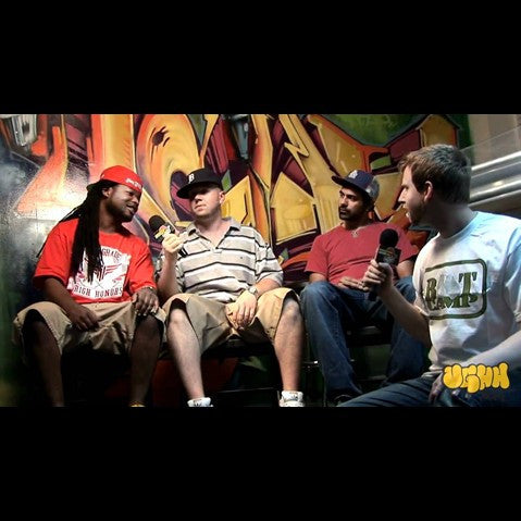 Agari Crew - 'Interview & Performance Pt. 1 (At The UGHH.com Retail Store - Boston, MA - 7/24/10)' [Video]