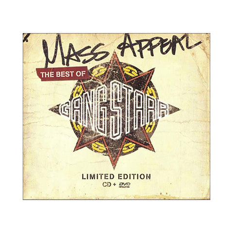 "[""Gang Starr - 'Mass Appeal: Best Of Gang Starr (Deluxe Edition)' [CD]""]"
