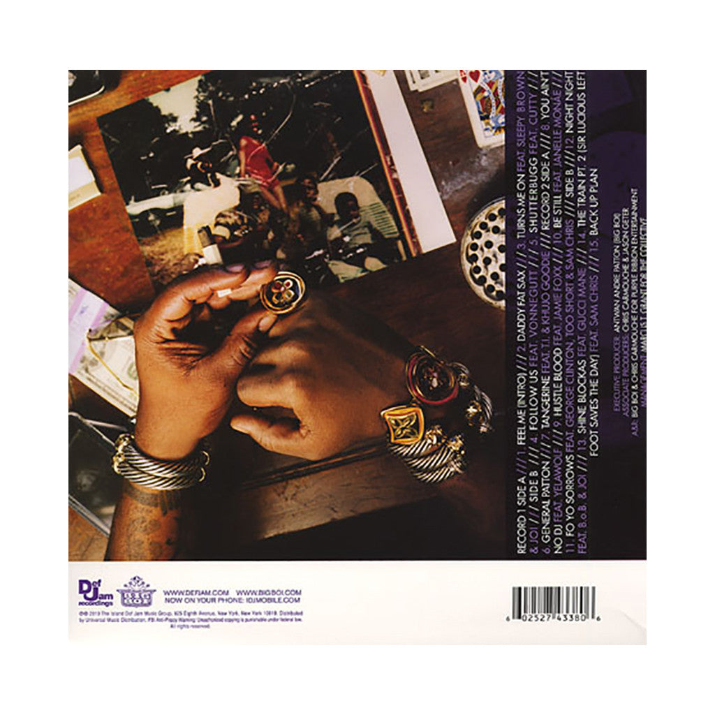 Big Boi - 'Sir Luscious Left Foot: The Son Of Chico Dusty' [(White) Vinyl [2LP]]